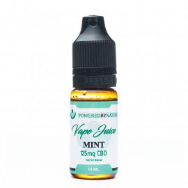 CBD and Mint Vape Juice - 10ml or 30ml bottle