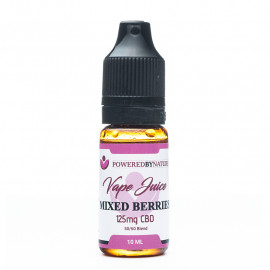 CBD and Berries Vape Juice 125mg - 10ml