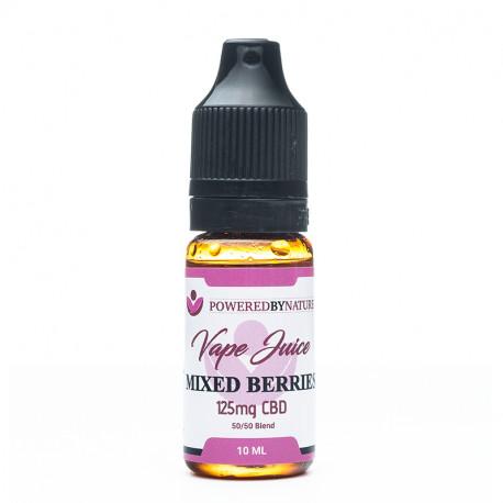 CBD and Berries Vape Juice 125mg - 10ml