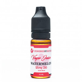 CBD and Watermelon Vape Juice 125mg - 10ml